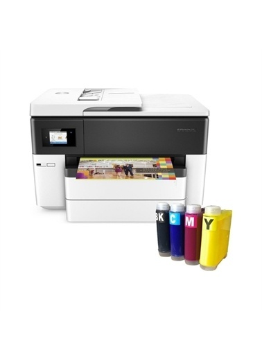 HP Hp Officejet Pro 7740 Fotokopi + Faks + Tarayıcı + Wi-Fi + Airprint + A3 Yazıcı G5J38A Ve Bitmeyen K Renkli